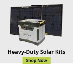 Heavy-Duty Solar Panels